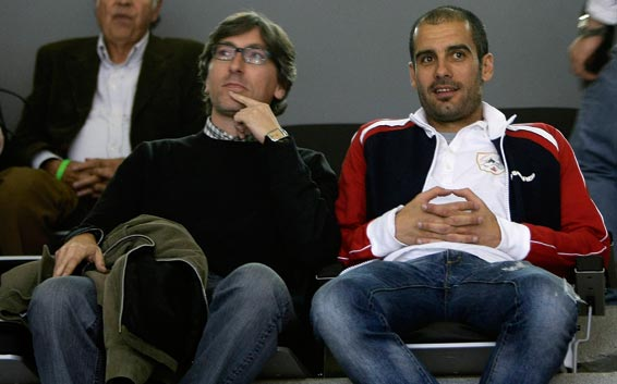 David Trueba and Pep Guardiola discuss Cervantes. Possibly. Or Levante v Getafe.