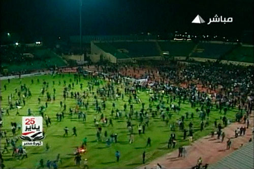 The next  thing you know, it will be al-Masry v al-Ahly all over again.