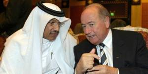 Mohammed Bin Hammam and Sepp Blatter agree there's no change like no change – unless you're the fall guy.