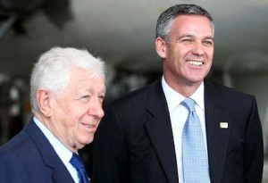 FFA Chairman Frank Lowy and his then-CEO Ben Buckley oversaw Australia's dismal World Cup bid.