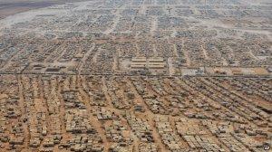 "Za'atari refugee camp. Jordan's fourth-largest ""city"". Pic borrowed from AP."