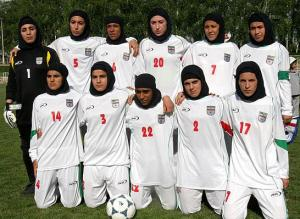 Iran women's national team.