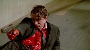 Tim Roth, as Mr Orange in Reservoir Dogs. He plays Sepp Blatter in UNited Passions. Blood not included.