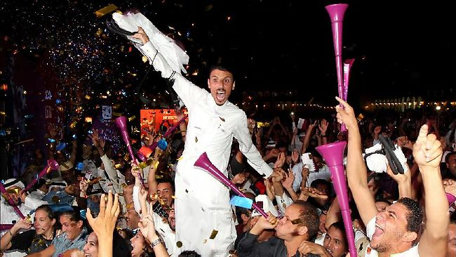 "All together: ""Qatar knows how to party."""