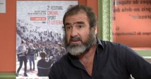 Cantona: no stranger to discussing immigration and racism.