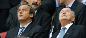 Michel Platini and Sepp Blatter ask how they ever got here.