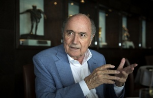 FIFA President Sepp Blatter, interviewed in Zurich by Russia's TASS news agency.