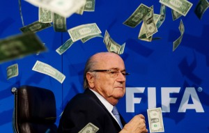 Sponsor statements ensure Blatter and FIFA are hit where it hurts.
