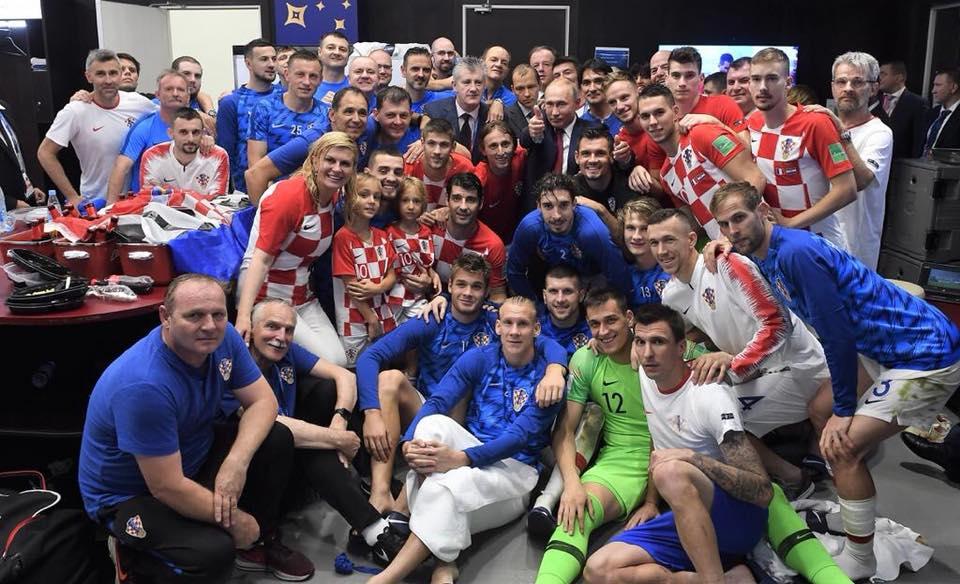 Croatia President Kolinda Grabar-Kitarovic wins the World